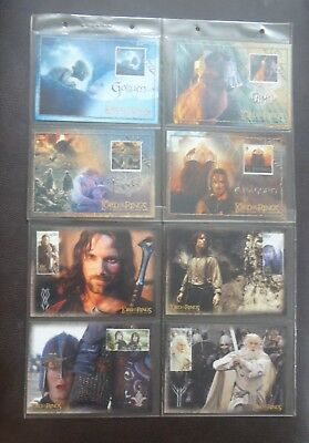 lord of the rings,post cards,theatre cards,holograms,stage cards.97 in total.