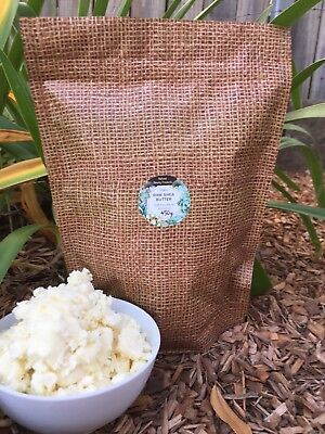 BULK BUY 450g! Certified Organic Pure Shea Butter- Unrefined,Raw -From Ghana
