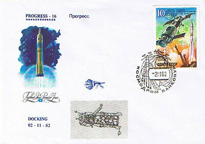Progress 16 - Baikonur 2.11.82
