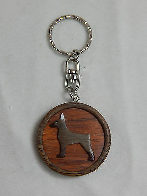 Closeout Dog Key Chain Holder For Dog Owner Real Wooden Pincher #Z012
