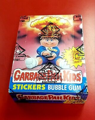 1985 garbage pail kids Series 2 GPK OS2 Sealed Box Of 48 Unopened Wax Packs