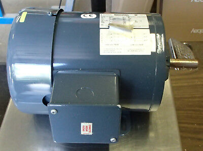 BROOK CROMPTON .33 HP 1130rpm TEFC 208-230/460V 56 3ph MOTOR 60hz NEW SURPLUS