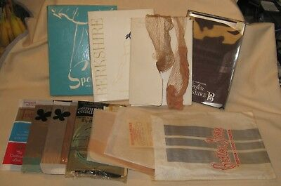 Lot of  11 Pairs of Vintage Nylon Stockings from an Estate