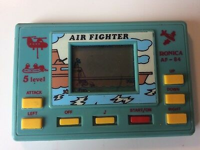 Air Fighter: Ronica, 1987. Retro Handheld Game.