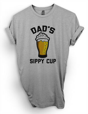 Dads Sippy Cup T-Shirt, Funny Beer Dad Shirt Gift For Best Father's Day