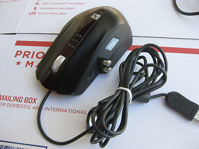 Microsoft Sidewinder Laser Gaming Mouse Corded USB With 3x 10g Weights FREE SHIP
