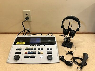 Interacoustics AA222 Diagnostic Audiometer/Tympanometer/Middle Ear Analyzer