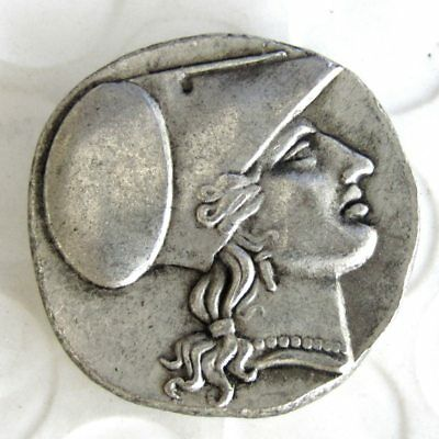 G(15)Rare Ancient Greek Silver Corinth Stater Coin from Syracuse - 304 BC
