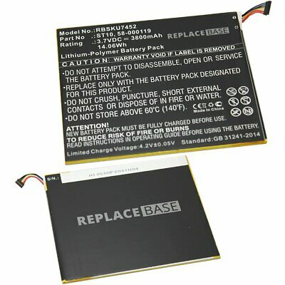 """3800mAh - 58-000119 / ST10 / ST10A For Amazon Kindle Fire HD 10 10.1"""" UK Battery"""