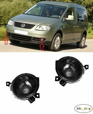 Volkswagen Caddy 2004 - 2004.12 2X New Front Fog Light Lamps Left + Right