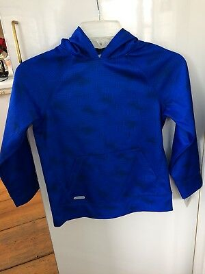 "Jumping Bean Boys ""Play Cool"" Blue Pullover with Hood Size 7  NWT"