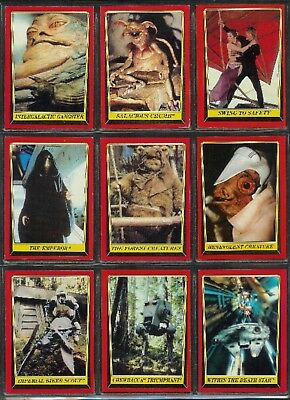 Star Wars The Return Of The Jedi - For Sale A Complete Classic Topps 1983 Set