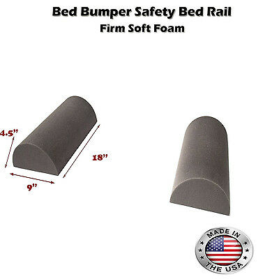 """Child's Toddler's Safety Portable Bed Bumper Pad Guard Rail 18 inch (9""""x4.5"""")NEW"""