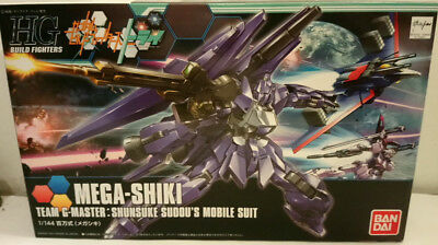 HG Gundam Build Fighters Try 1/144 Mega-Shiki Neu in Original Verpackung