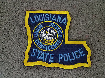 Louisiana State Police Patch New