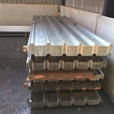 Brand new 10ft Galvanised Box Profile Roofing Sheets