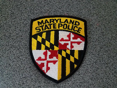 Maryland State Police Patch New