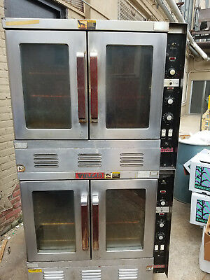 Vulcan Gas Double Stack Convection Oven - Good working order