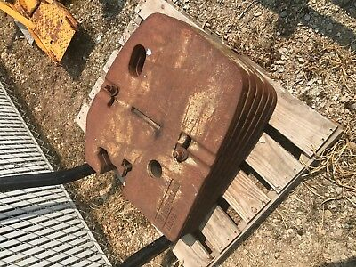 New Holland Tractor weight set off Genesis tractor