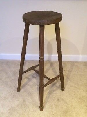 Beautiful Rustic/ Country Antique Stool Late Victorian/Edwardian Collectible