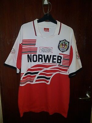Wigan Warriors 1994 Home League Rugby Shirt Norweb Xl Size Adult Xl