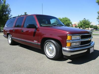 1999 Chevrolet Suburban 77K Original Miles Garaged NO RESERVE 5 DAY AUCTION