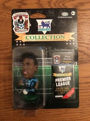 Corinthian Headliners 1997 Fapl Figure In Blister - Dion Dublin Coventry City