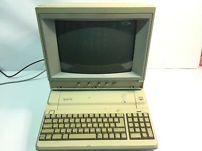 Apple IIe Computer with AppleColor Composite Monitor IIe