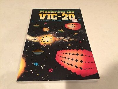 MASTERING THE VIC-20 Vintage Commodore Computer Manual BookJones Coley Cole 1983