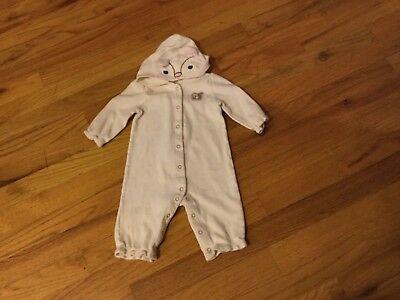 Girls Gymboree outfit size 0-3 months long sleeve w/squirrel