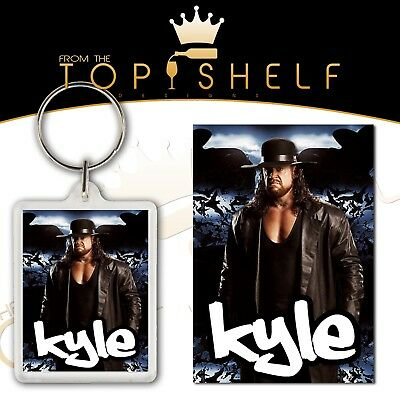Personalised Sonya Deville wrestling keyring bag tag