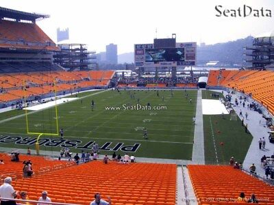 (3) Steelers vs Chargers Tickets Lower Level (Hard Tickets) !!