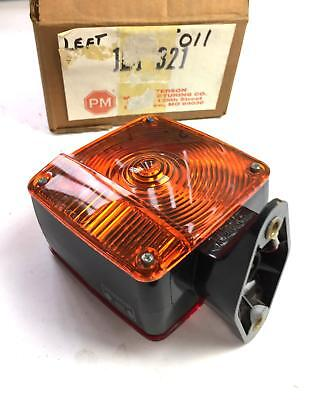 Peterson 321 Left Turn Signal Lamp Assembly NOS