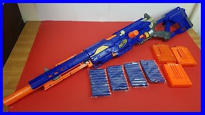 ~~Nerf Gun Longstrike Cs-6 +3 Clips +40 Darts