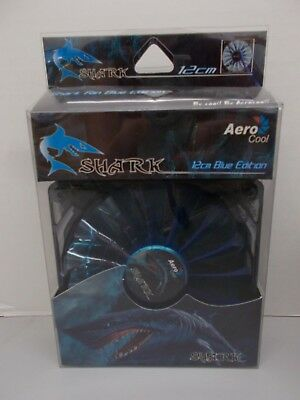 NEW AeroCool Shark 120mm Blue Edition Cooling Fan EN55420