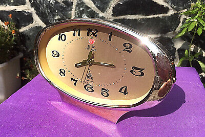 Vintage Mechanical Alarm Clock Made In China FIVE RAMS