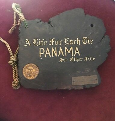 1915 Panama Pacific Exposition Souvenir Panama Canal Life For Each Tie