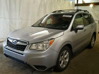2015 Subaru Forester 2.5i 2015 rebuild/repairable LOW MILES