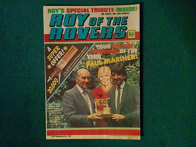 Roy Of The Rovers Comic Dated 29 August 1981