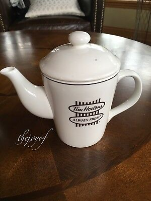 Tim Hortons Coffee Always Fresh Tea Pot / 2 Cup ~ English and French