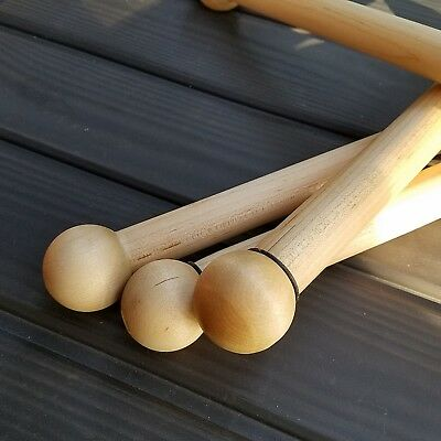 LAST THREE Handmade Solid Maine Maple Wooden Woodworker's Vise Handle Texas Made
