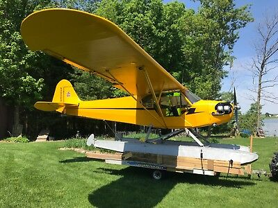 J3 CUB C90 ON FLOATS - Price Reduced!