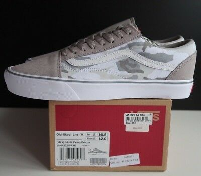 9562ac42470 Mens Vans Old Skool Lite Trainers GREY CAMO VN0A2Z5WPXE Various UK Sizes
