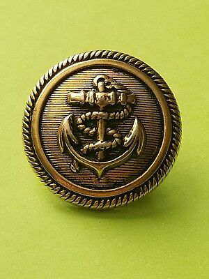 Vintage Military  Navy coat  button