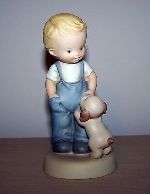 "S0108 Memories of Yesterday ""I'll Never Leave Your Side"" Figurine 1997"