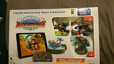Skylanders Super Chargers Starter Pack For IPAD, Ihone & IPod Touch (NIB)