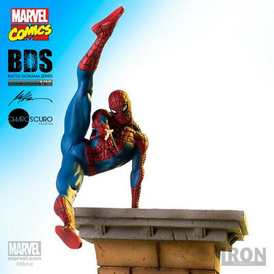 IRON STUDIOS Spider-Man BDS Tenth Scale Statue 1:10 Figure Statue NEW SEALED