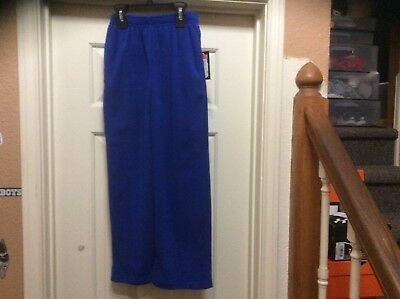 Boys Under Armour Blue Warm Up Pants Size 7 NWT