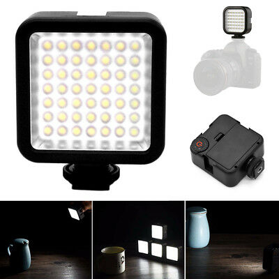 Photography Studio 49LED Video Light Lamp Dimmable for DSLR Cam DV Camcorder A1R