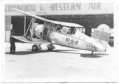 Curtiss SOC-1 Plane USS Chicago Navy Original Vintage Photo